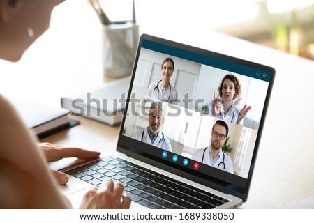 tıbbi · takım · hastane · ofis · toplantı - stok fotoğraf © snowing
