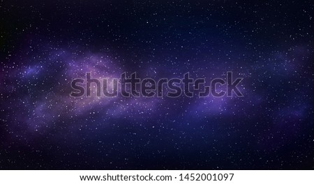 Beautiful nebula, stars and galaxies. Stock photo © NASA_images