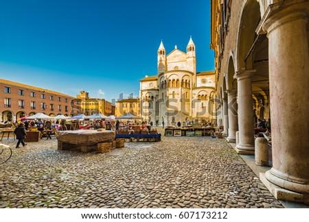 Straat Italië historisch centrum gebouw stad Stockfoto © borisb17