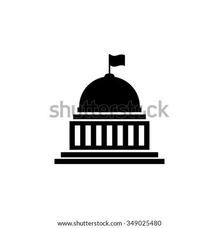 Vetor ícone ilustração modelo de design edifício projeto Foto stock © Ggs
