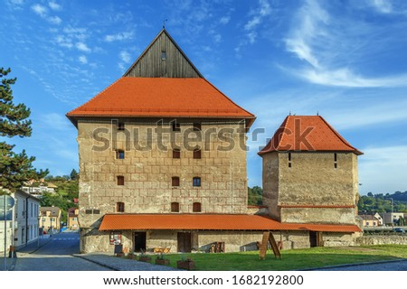 Great Bastion Bardejov Slovakia Stockfoto © Borisb17