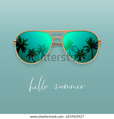 Fashion in sunglasses Stock photo © Novic
