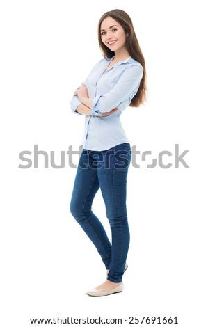 женщину Постоянный выстрел студию Сток-фото © jeancliclac