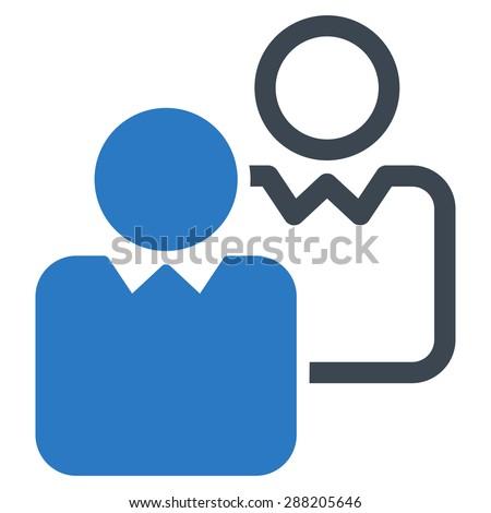 пользователь синий цвета икона набор изолированный Сток-фото © ahasoft