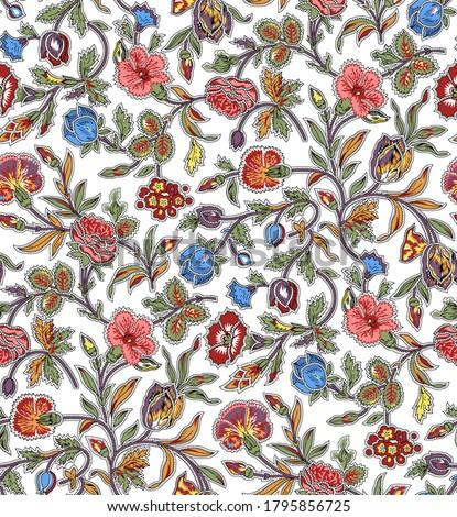 Sem costura padrão tradicional asiático elementos Foto stock © sanyal