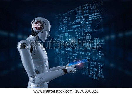 AI Brain Notebook Stock photo © limbi007