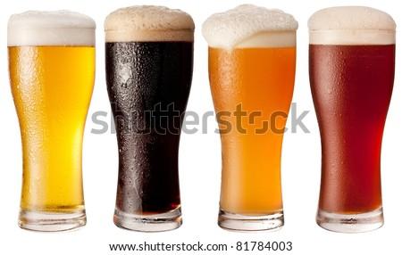 Vidro cerveja preto e branco tabela água casa Foto stock © CaptureLight