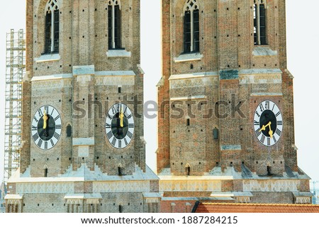 Frauenkirche tower Stock photo © magraphics