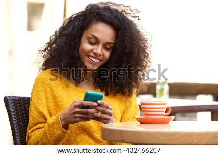 小さな 黒人女性 巻き毛 ショッピング かなり 女性 ストックフォト © boggy