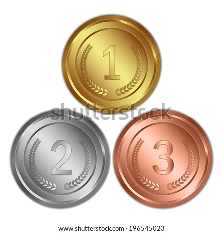 Check and Money, Gold and Silver Coins Vector Stock photo © robuart
