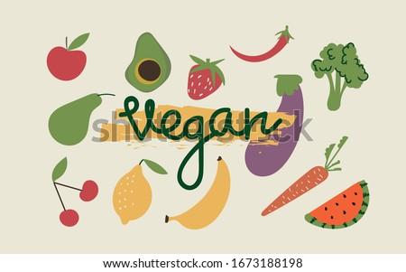 Appel vers fruit cartoon clipart geïsoleerd Stockfoto © barsrsind