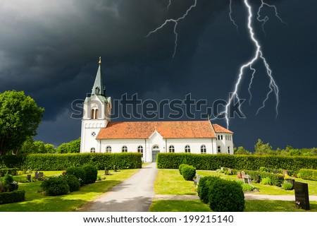 templom · legnagyobb · protestáns · München · Németország · víz - stock fotó © joyr
