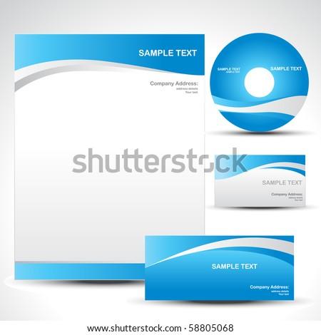 Set Of Vector Cd Cover Design Template Design Stockfoto © PinnacleAnimates