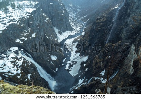 top view of the fjords Stock photo © Discovod