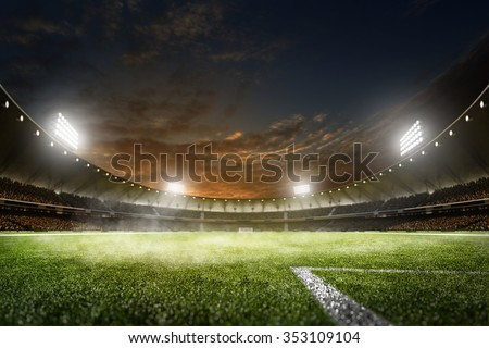 Football Brasil Stock photo © Wetzkaz
