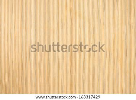 Yellow Bamboo Mat Background Foto d'archivio © Sailorr