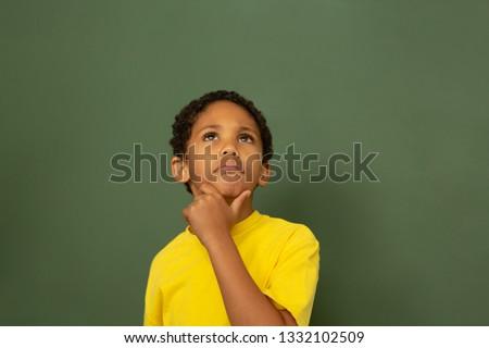 Vue écolier permanent classe école élémentaire Photo stock © wavebreak_media