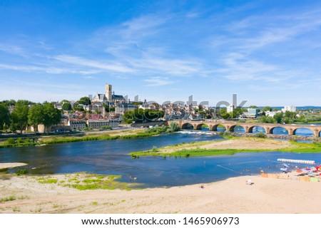 River Loire in Nevers, Burgundy, France  Stock photo © borisb17