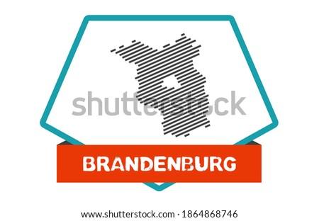 Button Brandenburg Stock photo © Ustofre9