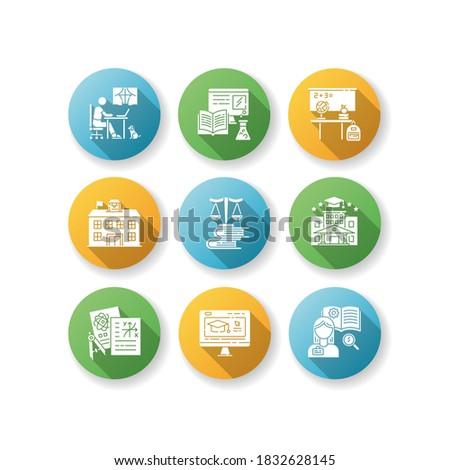 Otthon citromsárga fehér színek ikon szimbólum Stock fotó © ahasoft