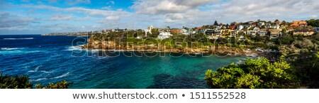 Scenic panorama of Gordons Bay Sydney Australia Stock photo © lovleah