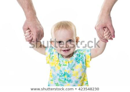 手 · 父 · 母親 · ホールド · 赤ちゃん - ストックフォト © lopolo