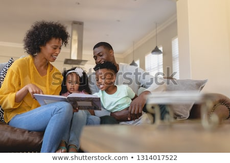 Frente vista feliz padres cute Foto stock © wavebreak_media