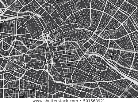 gps · app · vector · navigatie · reizen · toerisme - stockfoto © barsrsind