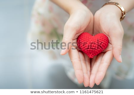girl with donor card Stock photo © adrenalina