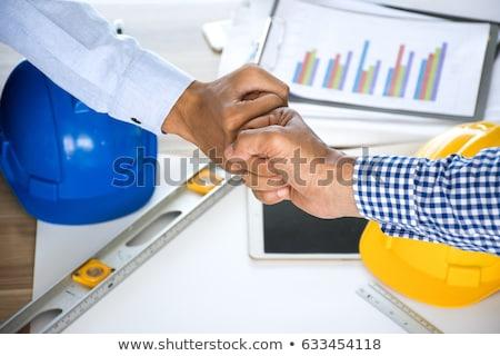 бизнесмен служба деловые люди технологий коллеги Сток-фото © dolgachov