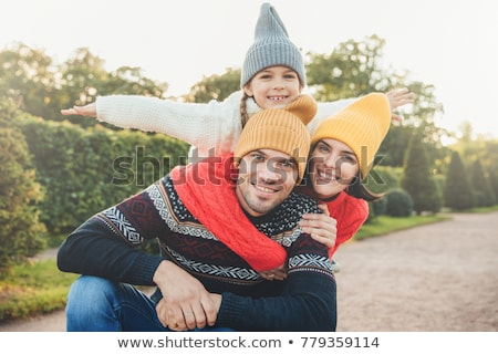 Horizontal portrait famille temps libre ensemble Photo stock © vkstudio