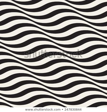 Bezszwowy Ripple wzór wektora tekstury Zdjęcia stock © samolevsky