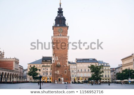 Ratusz wieża Polska główny rynku Zdjęcia stock © borisb17