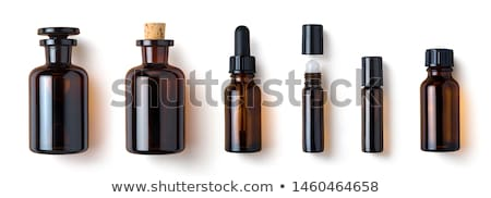 Zdjęcia stock: Pipette And Bottle Of Essential Oil