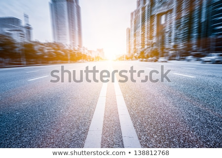 Shenzhen Road Sign stock photo © kbuntu