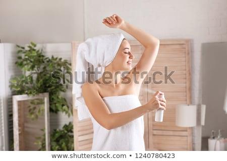 corps · soins · jeune · femme · déodorant · blanche - photo stock © ssuaphoto