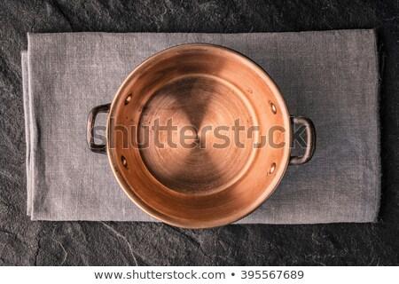 copper pot  Stock photo © premiere