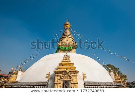 kamień · idol · świątyni · Nepal · religijnych · architektury - zdjęcia stock © smithore