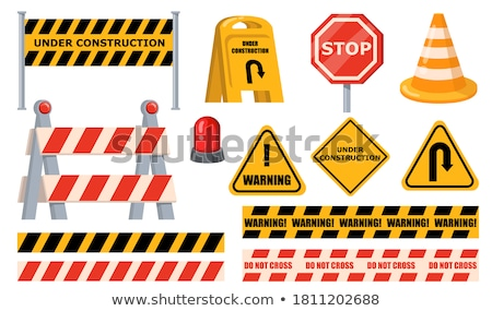 construction barricades stock photo © unkreatives