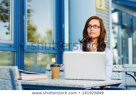 kadın · saat · zaman · işadamı · çalışma · işçi - stok fotoğraf © photography33