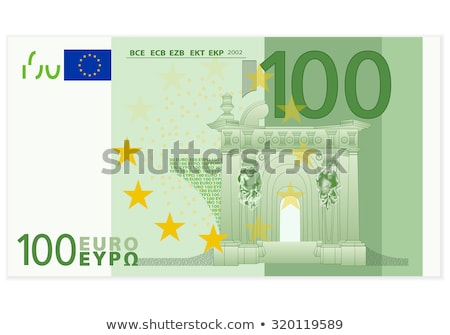 100 euro notas cem dobrado Foto stock © stevanovicigor
