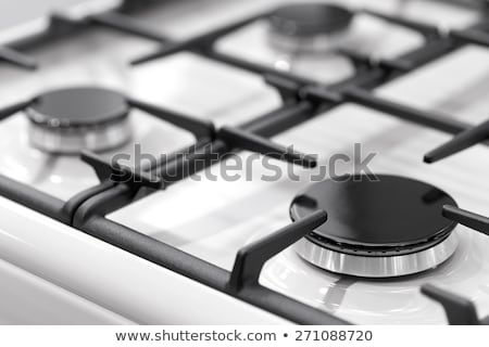 Stove gas burner a fragment Stock photo © Givaga