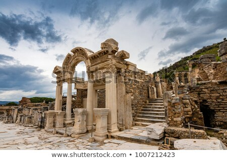 Ancient Pillars of Ephesus Stock photo © searagen