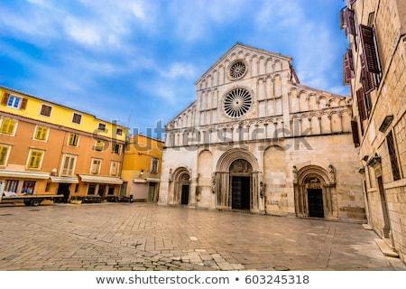 Cathedral in Zadar Stock photo © blanaru