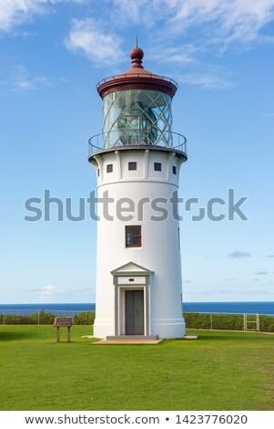 灯台 岩石層 北方 海岸 島 ハワイ ストックフォト © pixelsnap