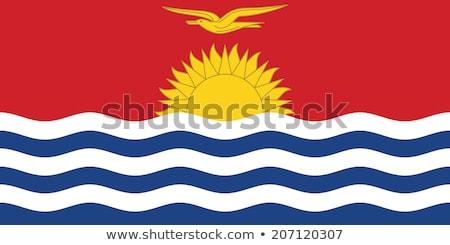 Кирибати · официальный · флаг · солнце · дизайна · Мир - Сток-фото © zeffss