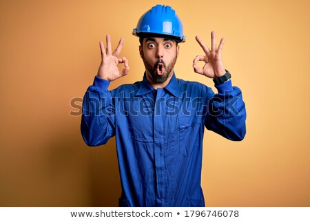 craftsman looking surprised Stock photo © photography33