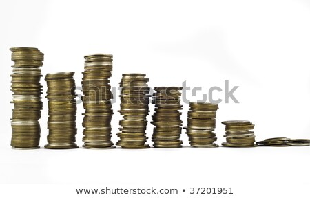 Recession or growth, Few towers Stock photo © Arsgera