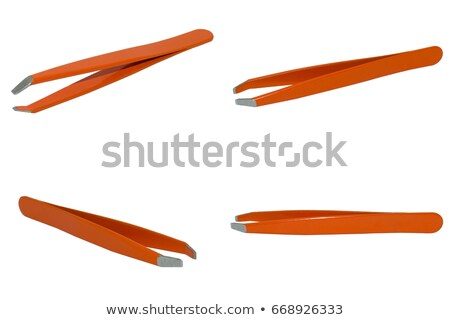 tweezers isolated on white stock photo © 3523studio