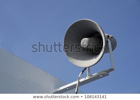Izolált megafon készít hangos zaj nap Stock fotó © vetdoctor